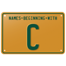 Names beginning with C