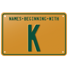 Names beginning with K