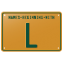Names beginning with L