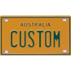 Custom MiniPlates - Yellow