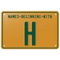 Names beginning with H
