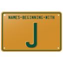 Names beginning with J
