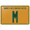 Names beginning with M