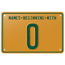 Names beginning with O