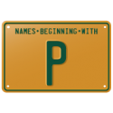 Names beginning with P