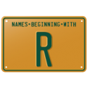 Names beginning with R