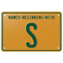 Names beginning with S