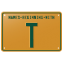 Names beginning with T