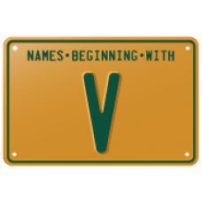Names beginning with V