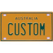 Custom MiniPlates - Yellow